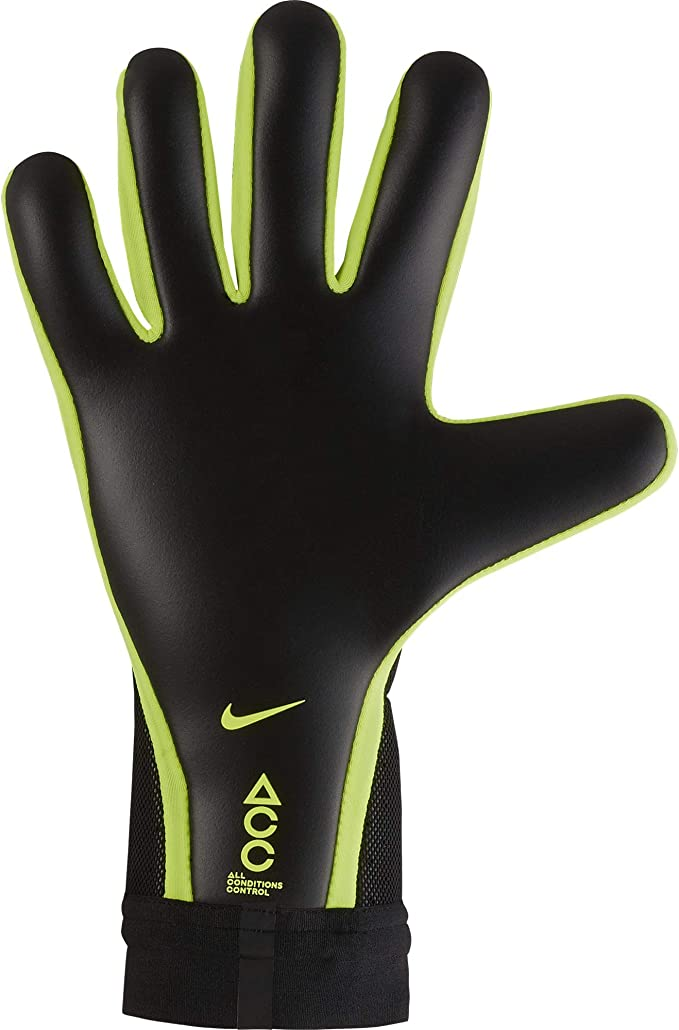 póngase en fila Revocación Menos  NIKE GK Mercurial Touch Elite Gloves- Black 9 : Sports & Outdoors -  Amazon.com