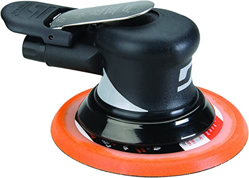 Dynabrade, 56826, Air Random Orbital Sander, 0.28HP, 6 In.