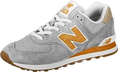 new balance grau orange