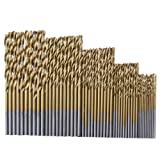 Amazon Price History for:Dolland 50Pcs Titanium Coated HSS High Speed Steel Drill Bit Set Tool 1/1.5/2/2.5/3mm