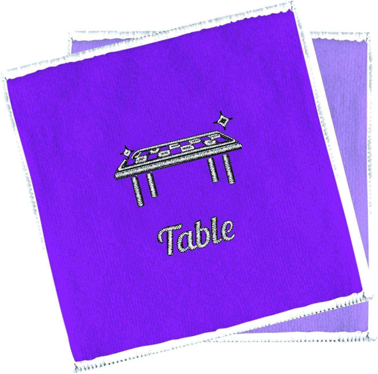 5 Pi/èces /Éponges Tissu Scrub Pad Vaisselle Effortless Nettoyage en Microfibre /Éponge Long Scrubber /Éponge Chiffon De Cuisine Nettoyage Tapis Naturel Loofah Pad Plat Bowl