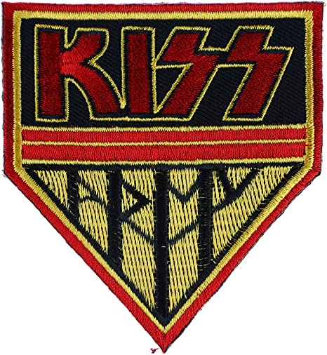 KISS Rock Band Sew or Iron on Patch NEW