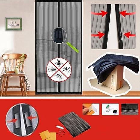 HHY-M Mosquitera Puerta Magnetica Corredera Cortina Cierre Automático Puerta Pantalla Cocina Cortina: Amazon.es: Deportes y aire libre