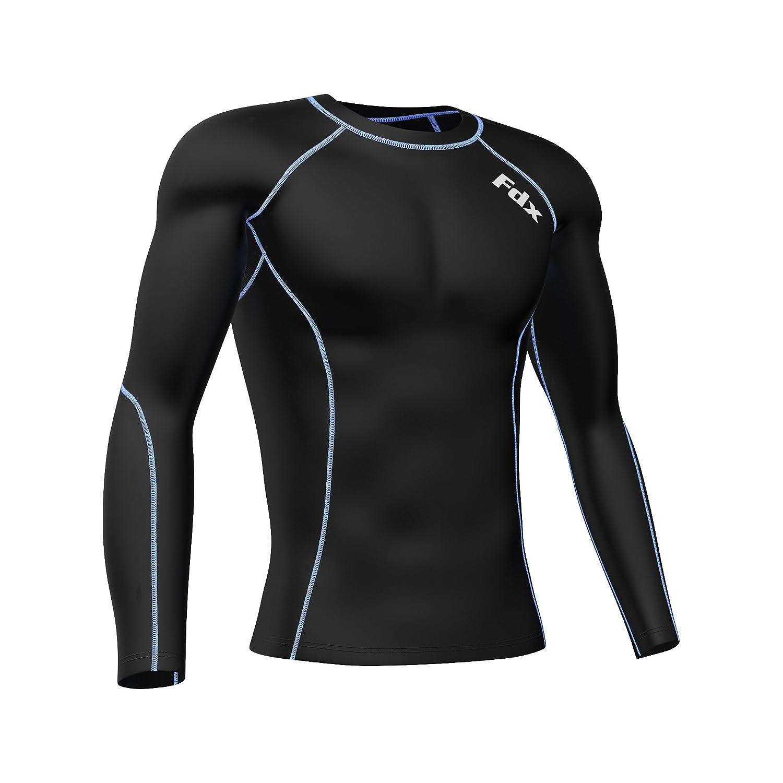 Set maglia intima e leggins a compressione da uomo di FDX