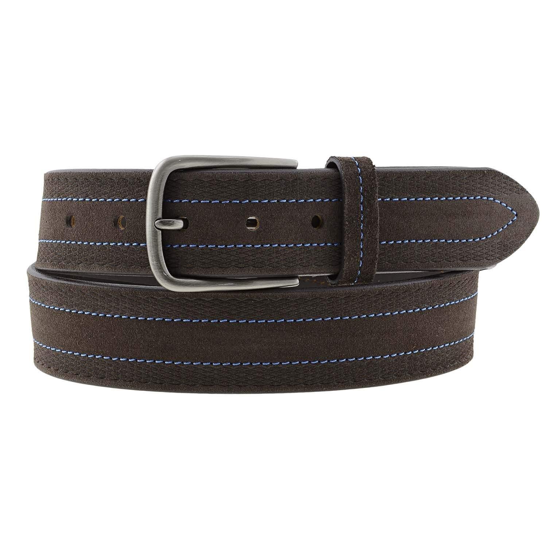 para hombre 34 mm VAELLO Cintur/ón ajustable de serraje