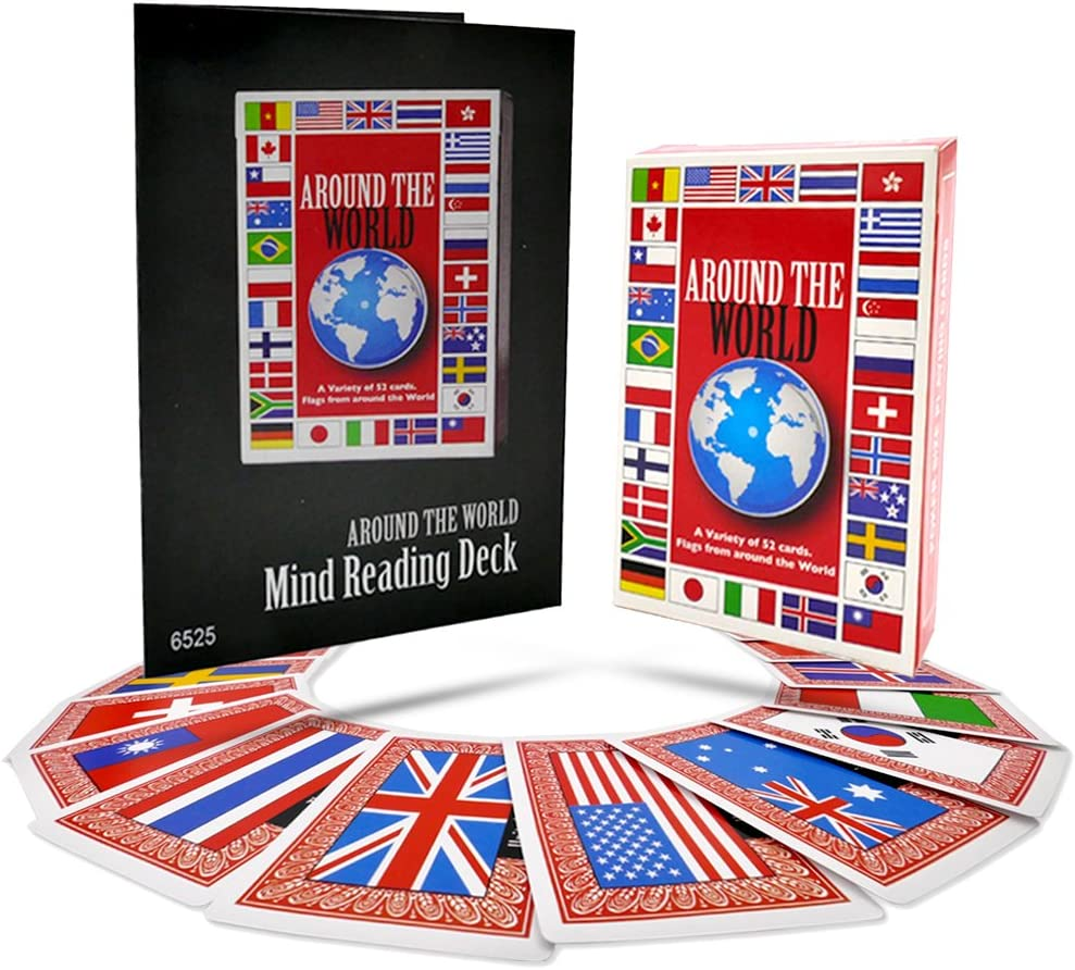 Around The World Mind Reading Deck By Magic Makers New Sealed