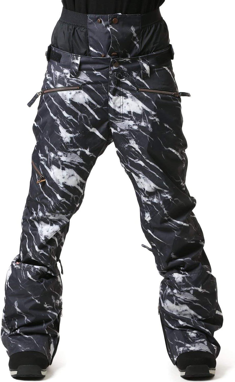 NIKITA ニキータ スノーボード ウェア パンツ W 白い PINE PANT 18-19モデル レディース NGWBWHI MARBLEPRINT Large