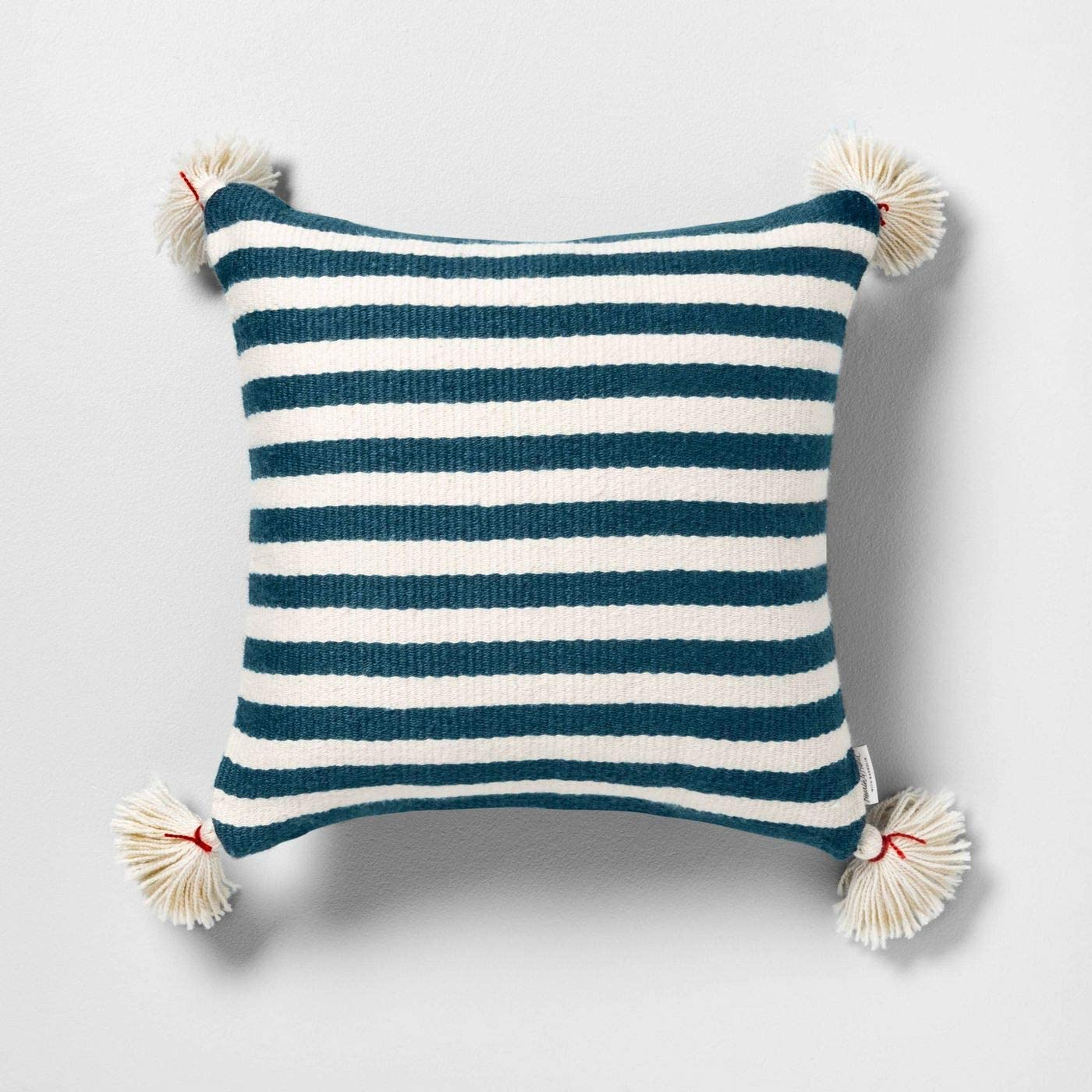 Square, Blue Hearth /& Hand with Magnolia Outdoor Toss Pillow