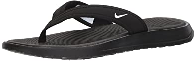 save off 5e6d5 3202b Nike pour Femme Ultra Celso String Tong, Noir (Noir Blanc), 35