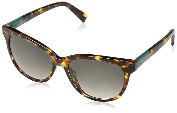 Furla Eyewear Damen Sonnenbrille, Mehrfarbig (White Havana+Shiny Black), 54