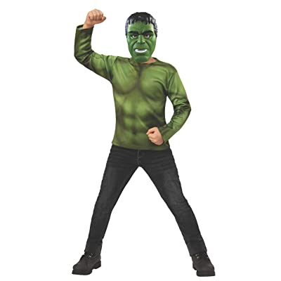 Rubie\'s Marvel: Avengers Endgame Child\'s Hulk Costume Top & Mask, Small: Toys & Games [5Bkhe1105703]