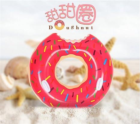 De postre dulce Flotadores gigantes adulto extra grande de donut gigante piscina inflable Boya vida natación