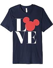 Disney Mickey Mouse Love Mickey Symbol Graphic T-Shirt