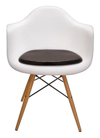 Amazon.com: Cojín para Eames – Silla de plástico moldeado ...