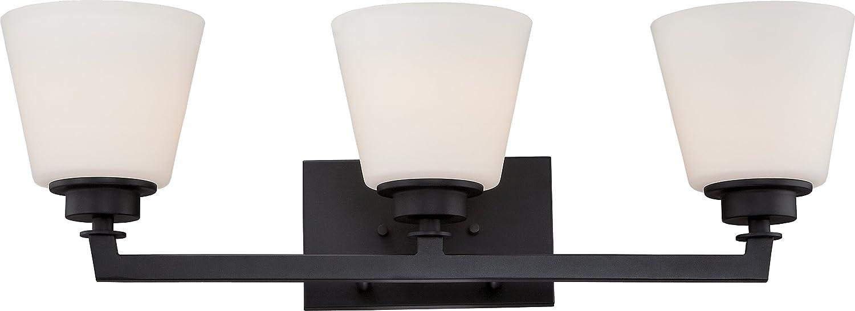 Nuvo Lighting 60//5553 Three Light Fixture Vanity Bronze//Dark