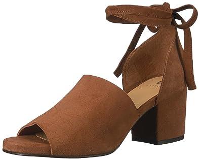 5941d2337a4 Hudson Women s s Metta Suede Ankle Strap Sandals  Amazon.co.uk ...
