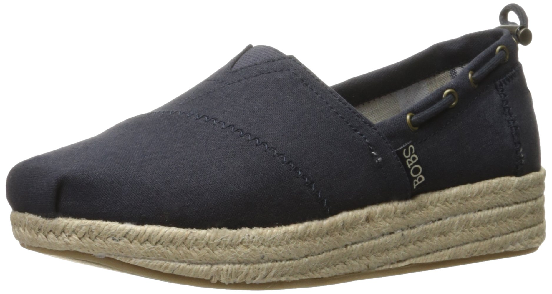 0933c334885 BOBS from Skechers Women's Highlights-Set Sail Flat, Navy Sail, 9.5 ...