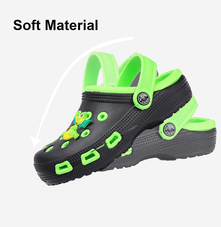 Enfant Sabots Mules Fille Gar/çon Tongs Plage Pantoufle Sandales Slip-on Piscine Chaussures /Ét/é