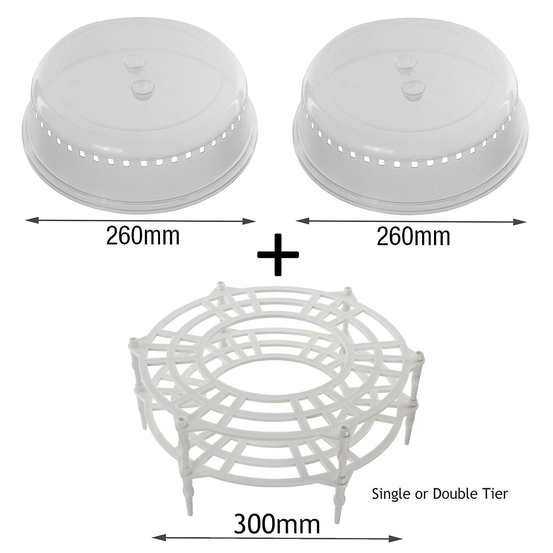 Spares2go - Soporte universal para placa de horno de microondas ...