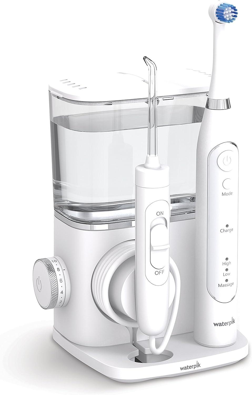 Waterpik Complete Care 9.5 - Cepillo de dientes eléctrico oscilante y irrigador bucal