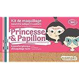 Namaki - Kit de maquillage enfants BIO - Princesse et Papillon - 3 couleurs