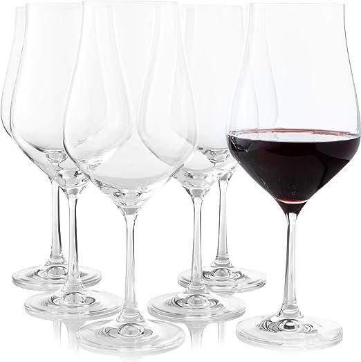 tamaño de copas de vino
