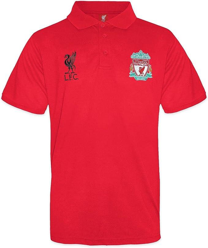 Liverpool F.C. - Polo oficial de fútbol para niños: Amazon.es ...