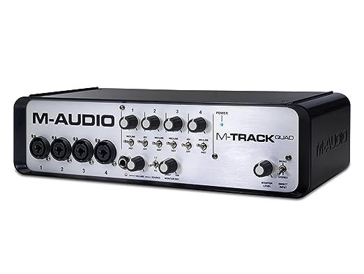 45 opinioni per M-Audio M-Track Quad Interfaccia Audio USB e MIDI a 4 Canali con Risoluzione
