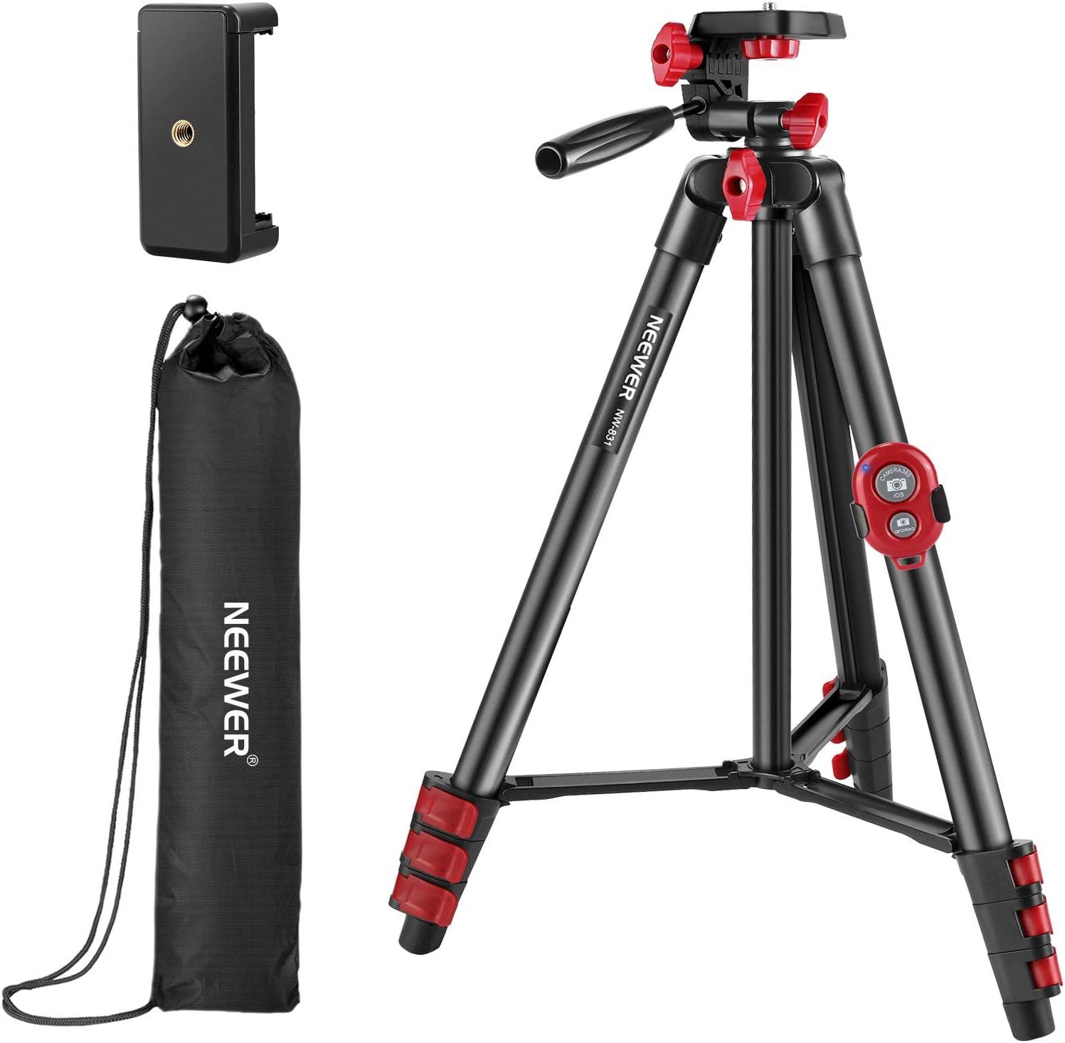 Neewer Tripod Kit 54 Zoll Reisestativ Mit Pan Head Kamera