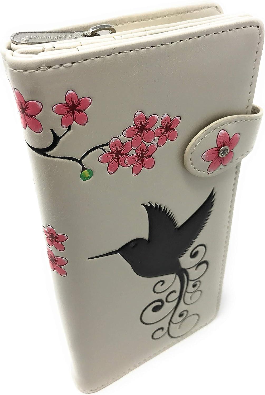 Hummingbird Large Women's Wallet Beige