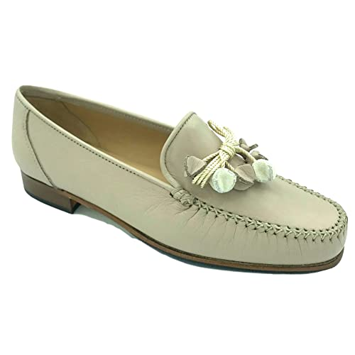 classic buying now super cheap HB Shoes Womens Ladies Moccasins Leather Tassel Slip On Flat Comfortable  Smart Formal Shoes Loafers Size 2-9