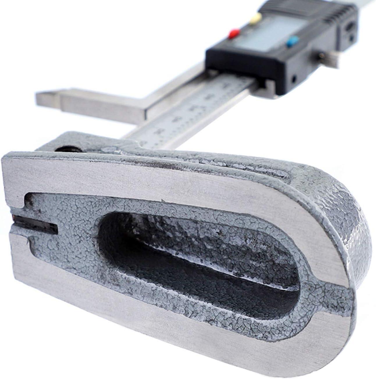 SNOWINSPRING Calibrador Externo 0-150 Mm Tipo de Resorte Di/áMetro Exterior Calibrador Digital Calibrador de Presi/óN Electr/óNico Digital