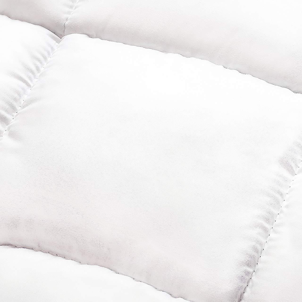 Lumaland Funda de colchón en Microfibra con esquinas100x200 cm: Amazon.es: Hogar