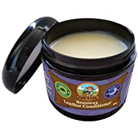 Paul's Pail All Natural Beeswax Leather Conditioner | Genuine Leather Restorer, Softener and Protector