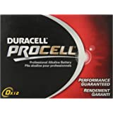 DURACELL New Mega Size Package D12 PROCELL Professional Alkaline Battery 24 Count Value Pack