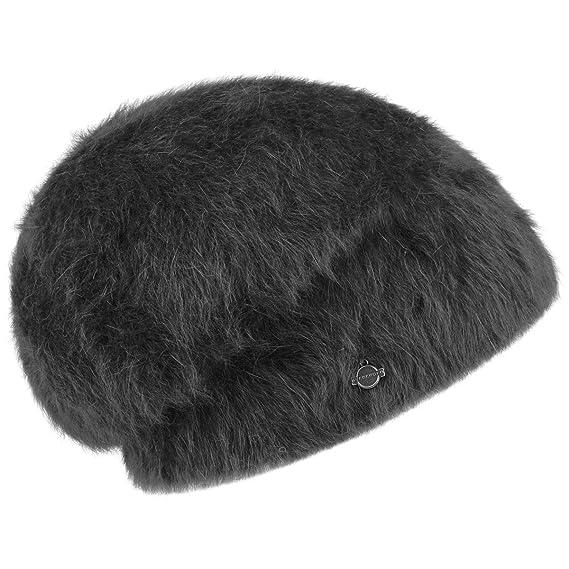 6c2819967d2 Angora Beanie Seeberger beanie winter beanie (One Size - black ...