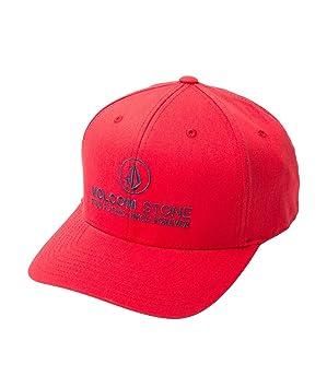 Volcom Super Clean Xfit Gorra, Hombre, Red, S/M
