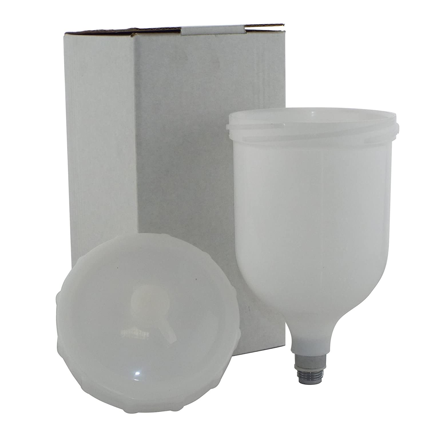 2 x Genuine Devilbiss SLG-450 Replacement/Spare Cup/Lid for Devilbiss SLG-620/SLG-610 Paint Air Spray Guns x 2
