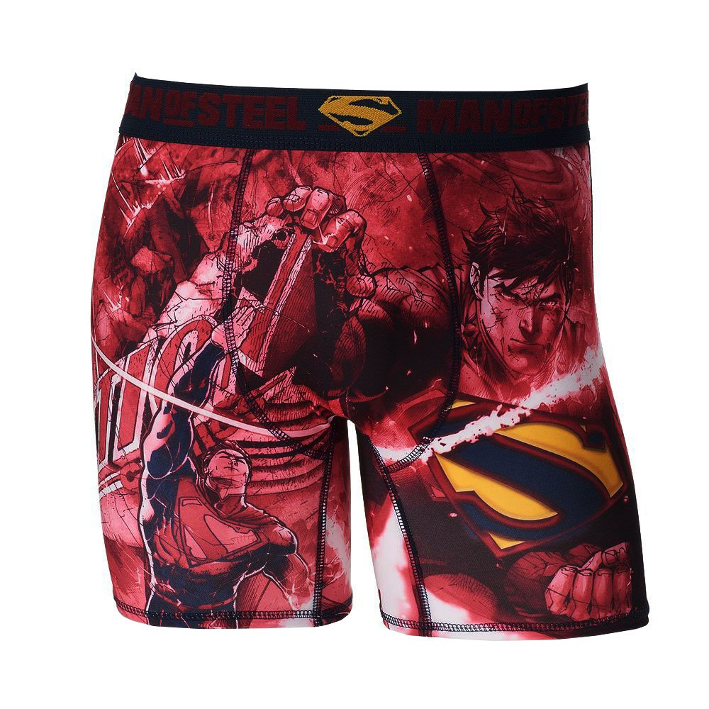Briefly Stated Mens Superman Boxer Briefs 17SP138MBBZA-P6
