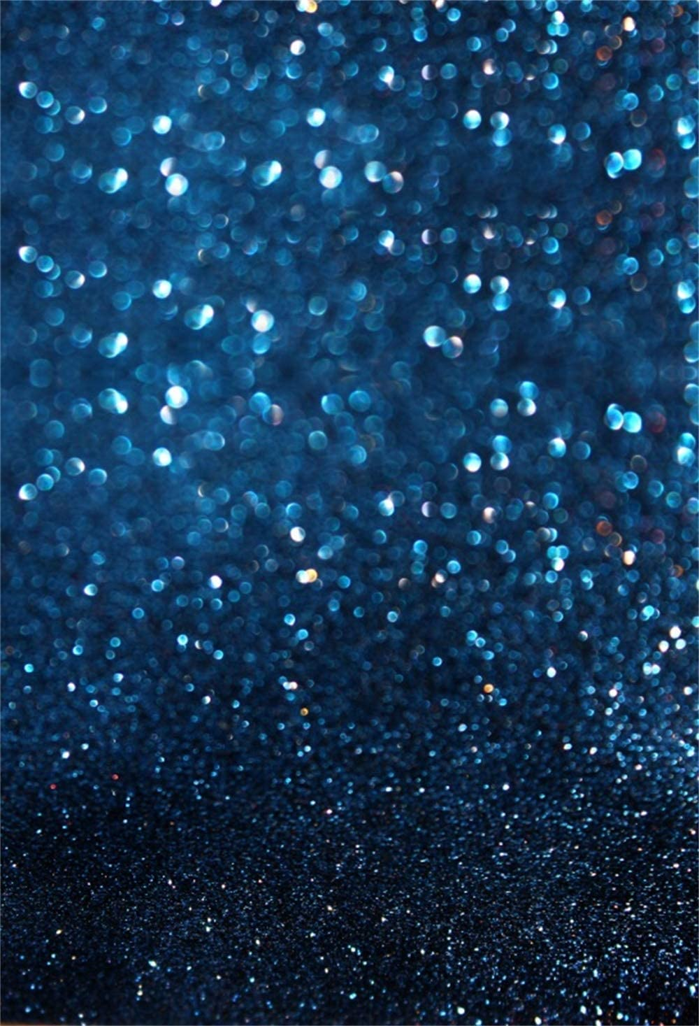Dim Blue Glitter Bokeh Haloes Backdrop Polyester 6.5x10ft Valentines Day Wedding Photography Background Child Kids Newborn Lovers Adult Portrait Shoot Studio Photo Props