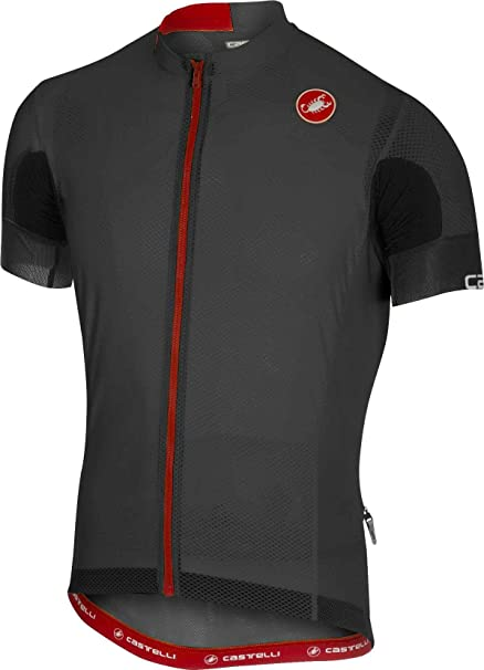 71f2dff00 Amazon.com   Castelli Aero Race 4.1 Solid Jersey FZ   Sports   Outdoors