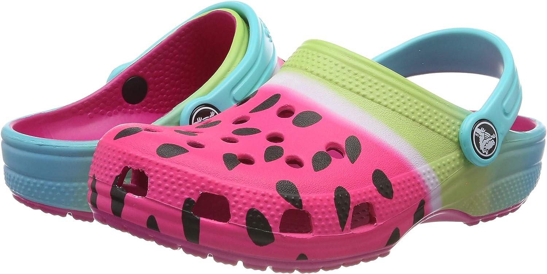 Crocs Classic Ombre Graphic Clog K Sabots Mixte Enfant