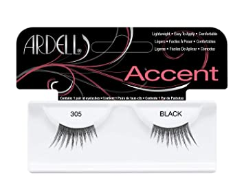93f8e476d8e Amazon.com : Ardell Accents Lashes Pair - 305 (Pack of 4) : Fake Eyelashes  And Adhesives : Beauty