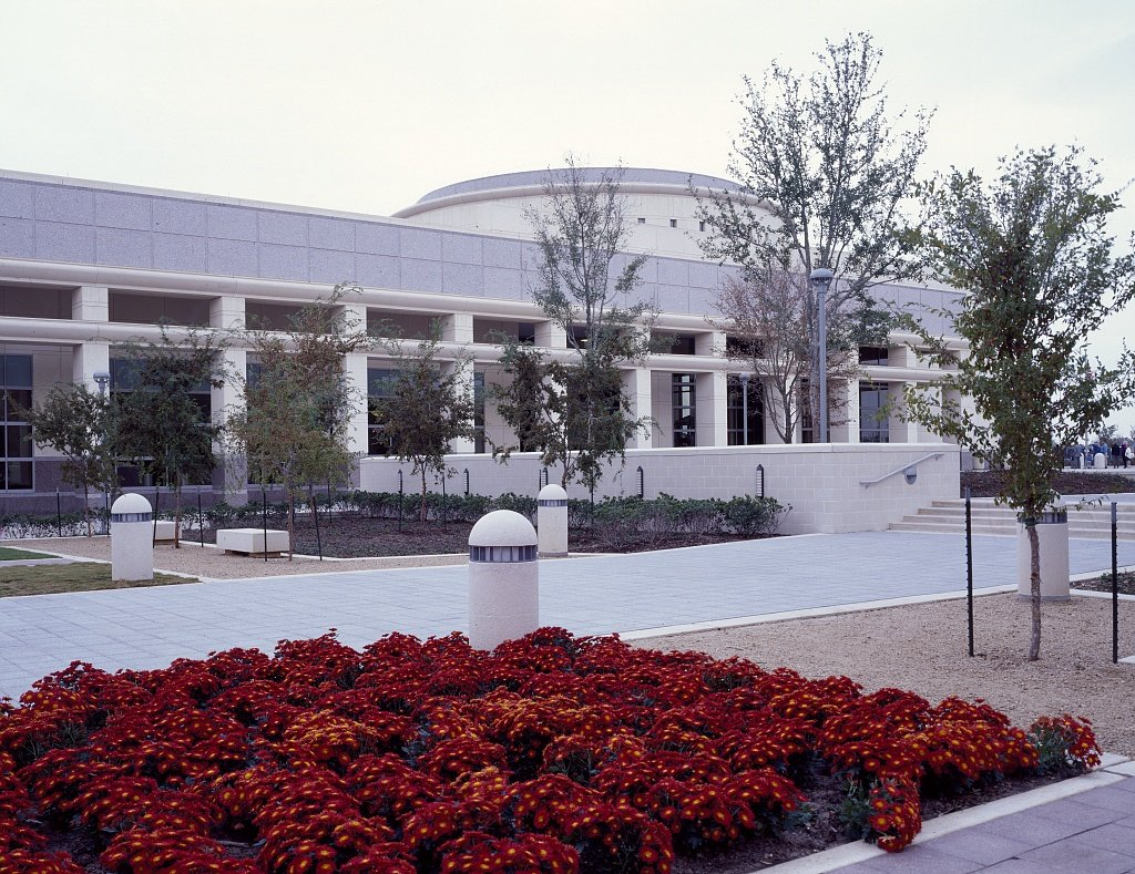 Vintography 24 x 36 Giclee Print ofÊGeorge Bush Presidential Library and Museum on The Texas A&M University Campus College Station Texas r43 [Between 1980 and 2006] by Highsmith, Carol M,