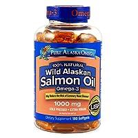 Expect More Wild Alaskan Salmon Oil Softgels (180 ct.) s