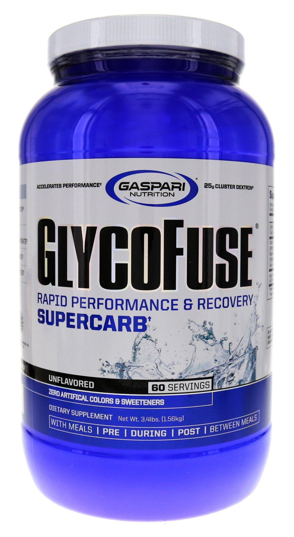 Gaspari Nutrition Glycofuse 1560g, Unflavored, 3.4 Pound