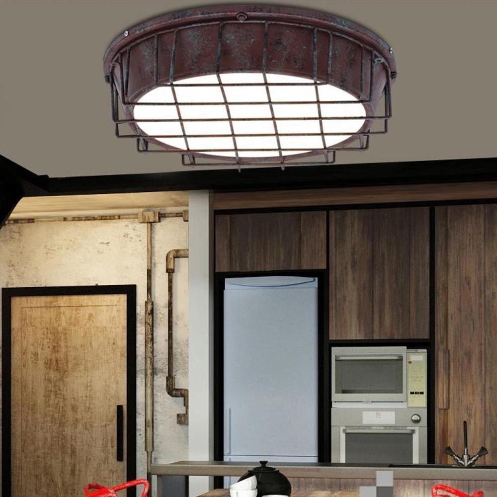 OOFAY LIGHT® LED Deckenleuchte Retro Vintage Industrie Stil Kreative ...