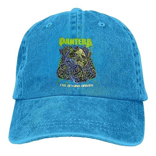 Obagaty Pantera Far Beyond Driven Reaationary Trucker Hats Cowboy Baseball  Caps 2b0d723de13