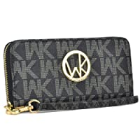 MKP Collection Card Case Wallets~Zip Around and Twist Lock Wallet. Wallet for woman,Wallet for all season.Fashion Wallet