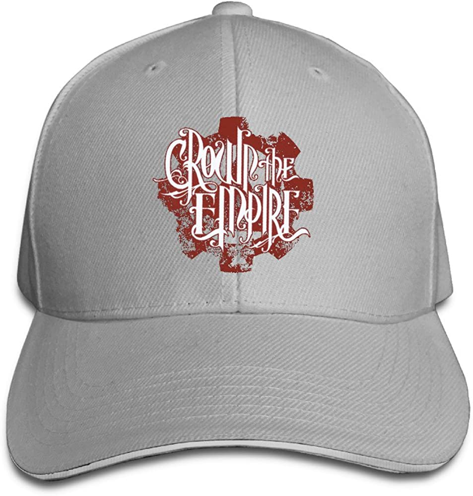 Crown The Empire Red Logo Adjustable Unisex Hats Snapback Caps Sanwich Bill Caps